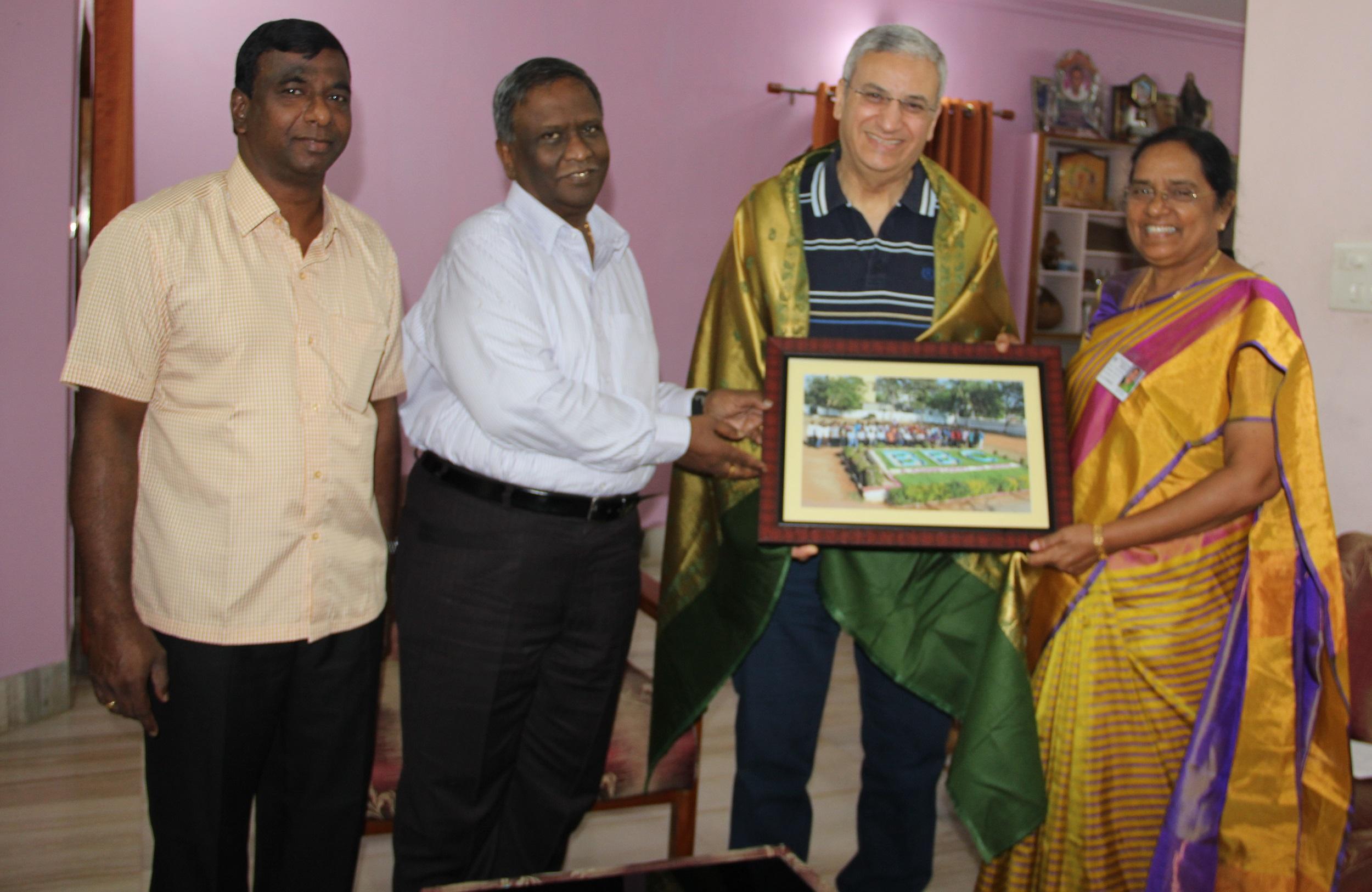 Visit of Dr. Nagy Iskander